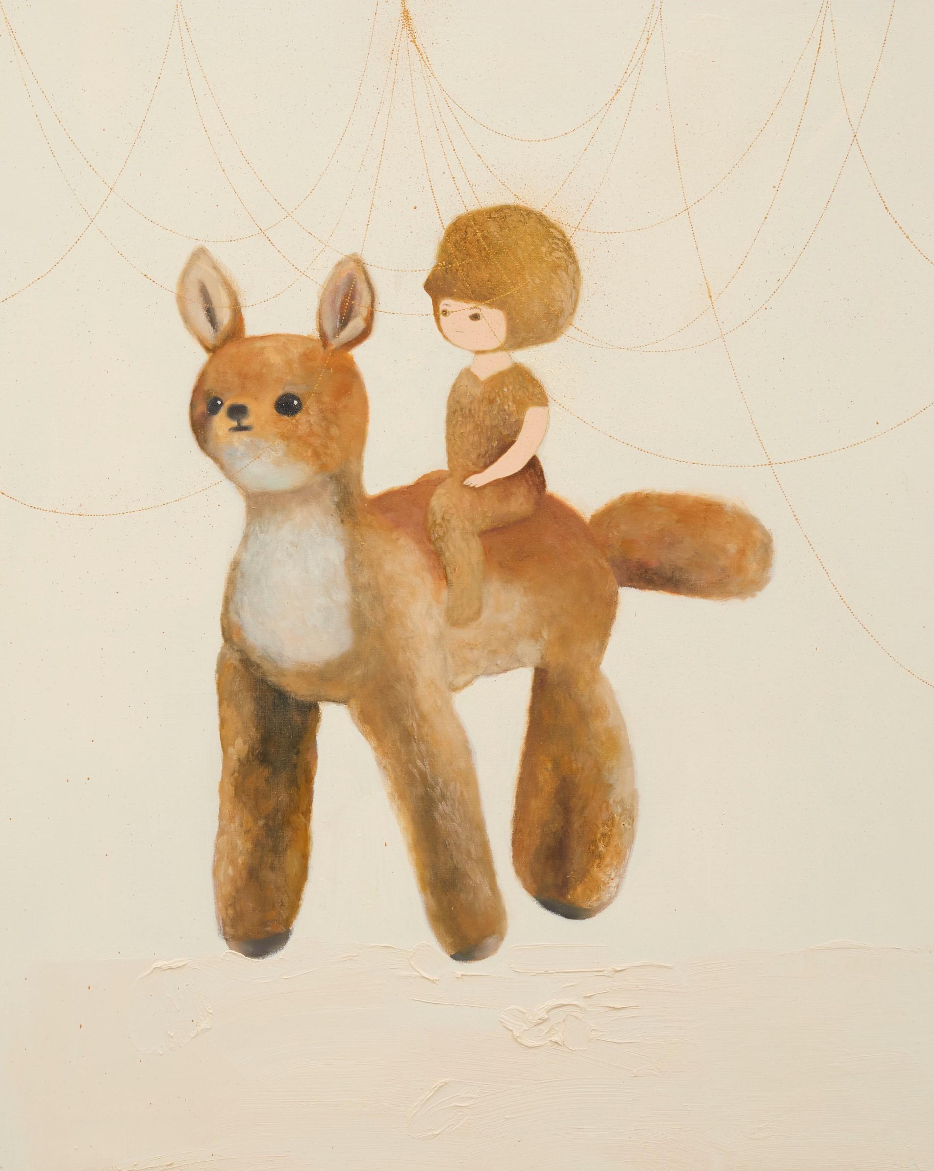 ぬいぐるみ 2020 油彩在畫布 oil on canvas 91.0 x 72.7 cm